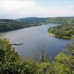 Flusslandschaft Obere Moldau